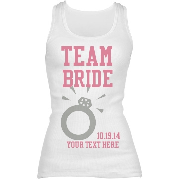 Create your wedding party shirts here!